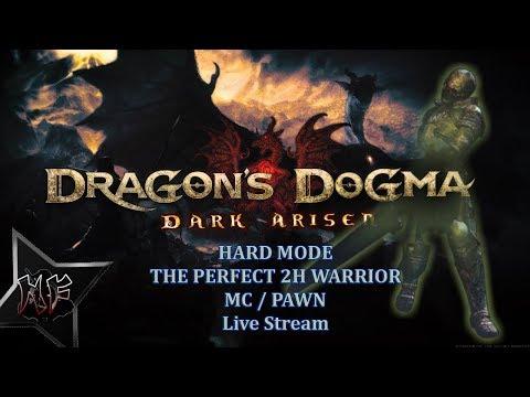 Dragon's Dogma Dark Arisen | Hard Mode NG | 2H Warrior MC + Pawn | Beastliness | PS4