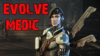 Evolve Big Alpha Gameplay Walkthrough Playthrough Part 2: The Medic (PC)