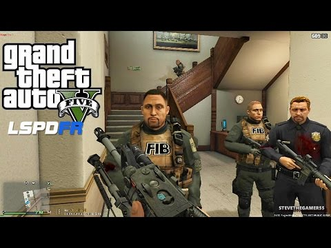GTA 5 LSPDFR 0.3.1 - EPiSODE 290  - LET'S BE COPS - FBI PATROL (GTA 5 PC POLICE MODS)