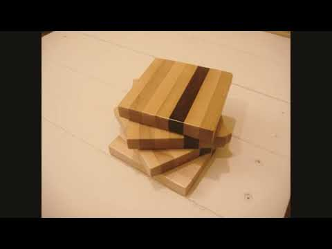 Handmade Wood Coasters