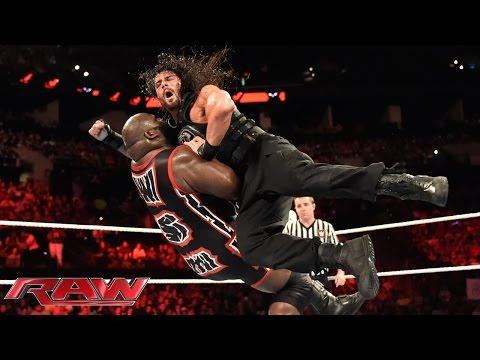 Roman Reigns vs. Mark Henry: Raw, June 1,...