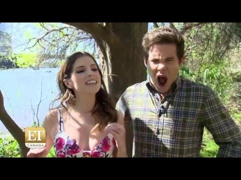 Anna Kendrick And Adam DeVine On Shooting In Hawaii For