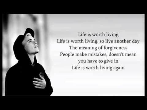 Justin Bieber   Life is worth living Lyrics