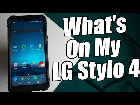 What's On My LG Stylo 4?