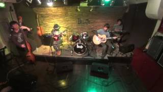"The Footworks play ""Only Time Will Tell"" following the cover of Dr...."