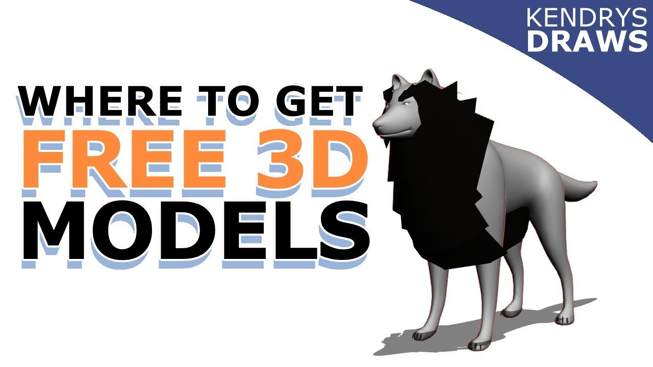 Clip Studio paint- Where to get FREE 3D MODELS