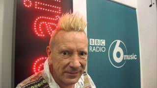 John Lydon radio interview, October 9th 2014