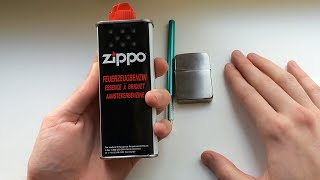 видео зажигалка зиппо