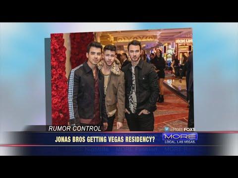 Jonas Brothers Getting A Vegas Residency?