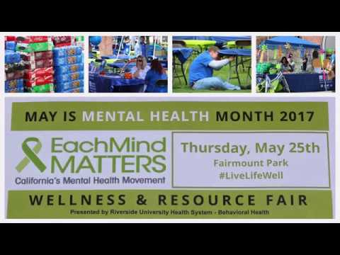 May is Mental Health Month 2017