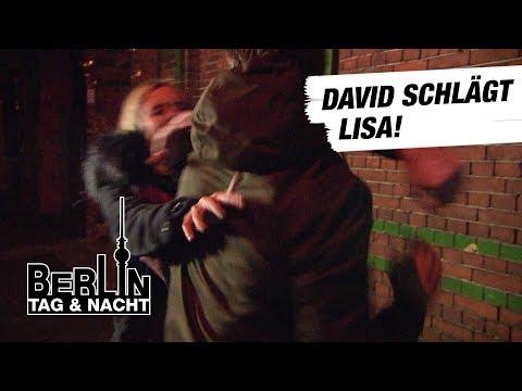 Berlin - Tag & Nacht - David schlägt Lisa! #1649 - RTL II