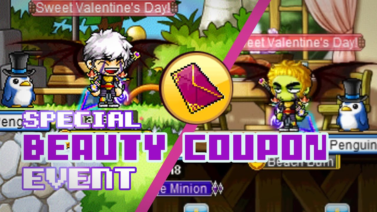 Maplestory random beauty coupon hairstyles