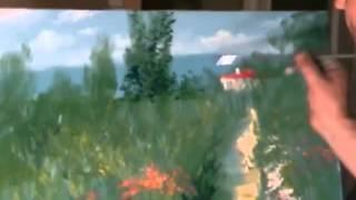 Все полные видеоуроки Сахарова у нас  Лес, цветущий луг