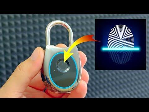 ЗАМОК НОВОГО ПОКОЛЕНИЯ со сканером отпечатка пальца из Китая с Алиэкспресс