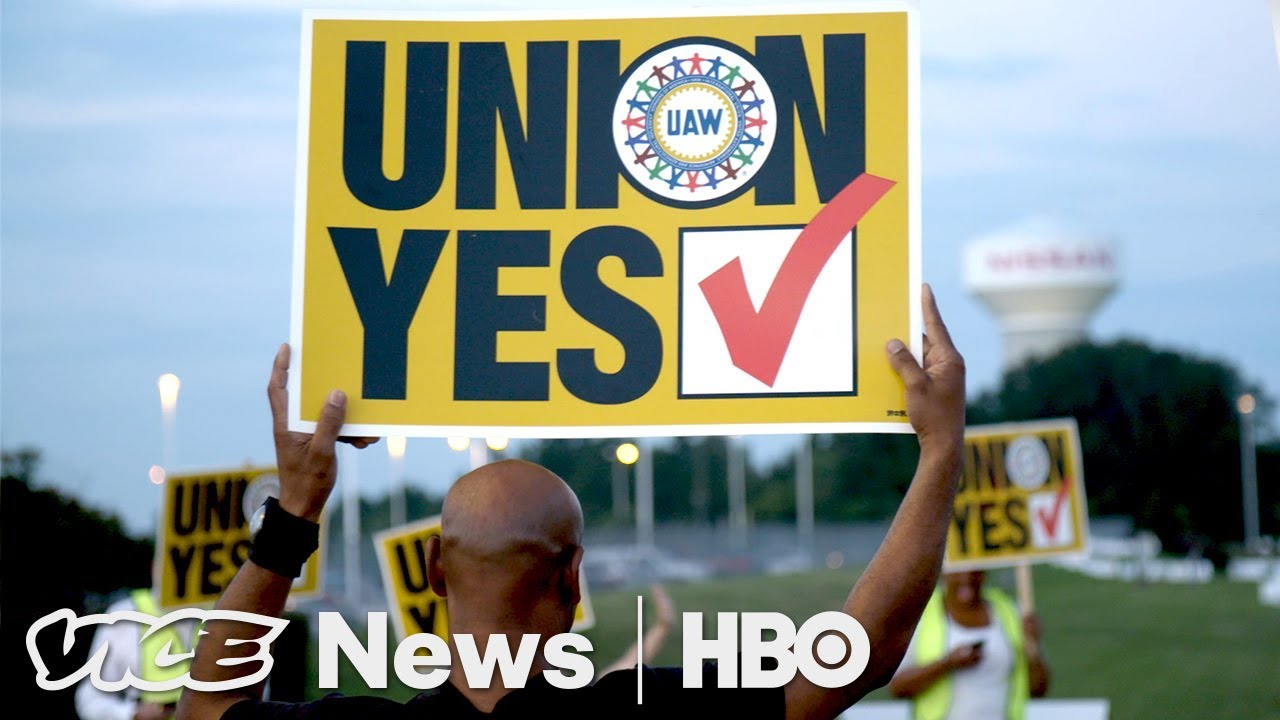 Nissan Workers In Mississippi Say No To Union (HBO)