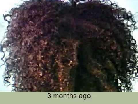 Six Months Natural Hair Growth