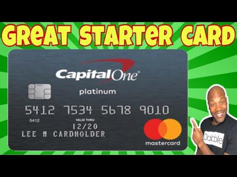 Capital One Platinum Mastercard