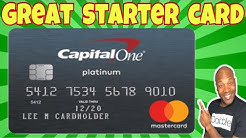 Capital One Platinum Mastercard