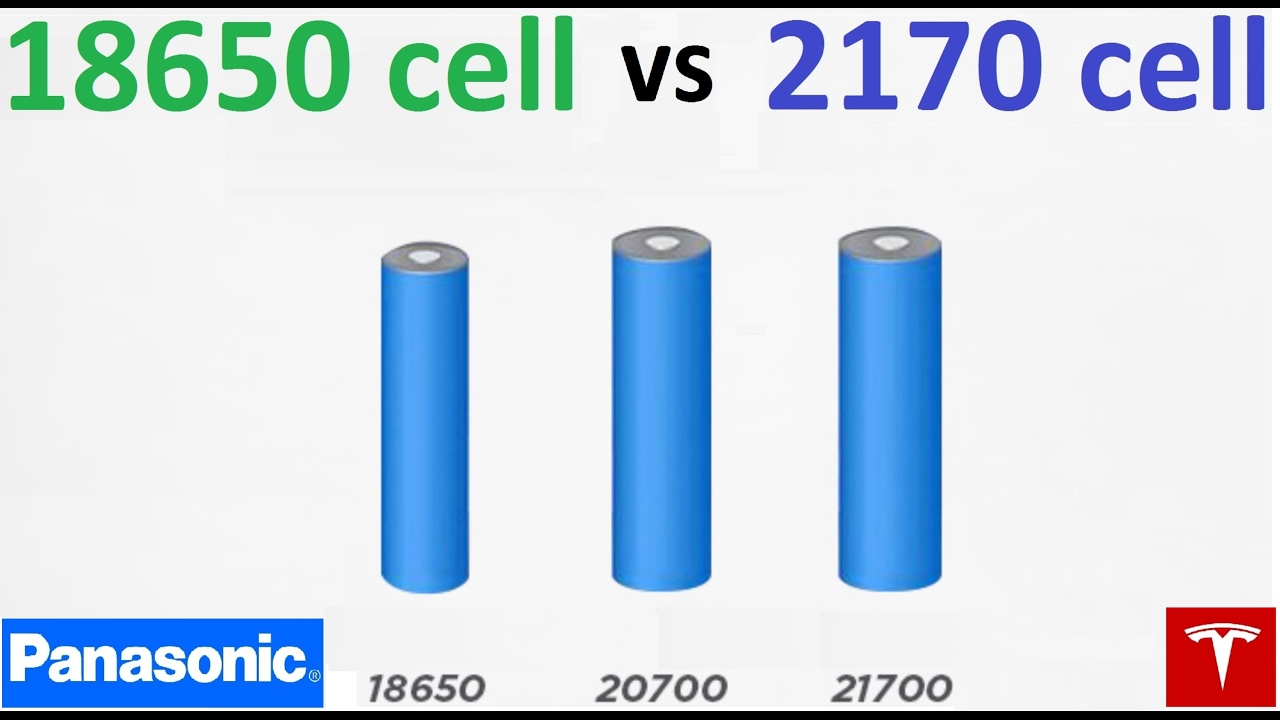 Battery Cell 2170 >> Tesla S 18650 Cells Vs 2170 Youtube