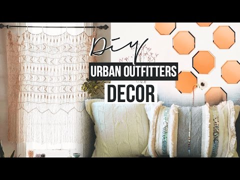 DIY Urban Outfitter's Inspired Decor!