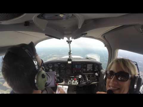 Jayme Flies a Plane