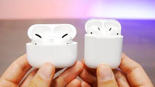 Впечатления от наушников Apple AirPods Pro и сравнение с AirPods