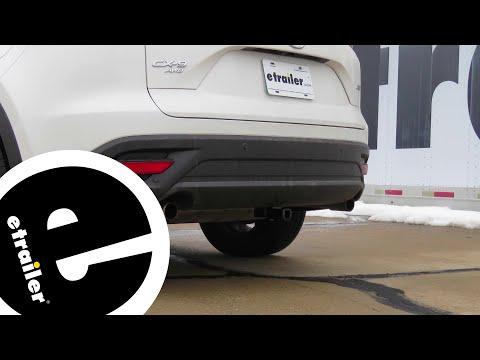 Etrailer | Curt Trailer Hitch Receiver Installation - 2018 Mazda CX-9