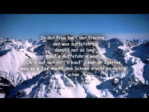 Wolfgang Ambros - Schifoan (Lyrics)