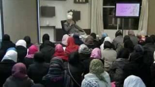 Gulshan-e-Waqfe Nau (Nasirat) Class: 2nd January 2010 - Part 5 (Urdu)