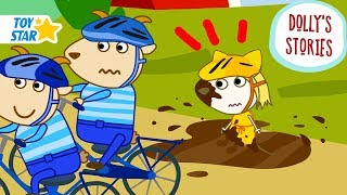 Dolly's Stories | Cycling Race | Funny New Cartoon for Kids | Episode #76