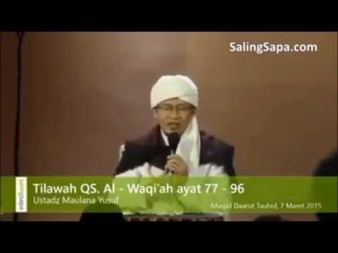 Menantu Aa Gym Tilawah Al Quran Merdu, Ust Maulana Yusuf Yang Bikin Nangis, Masya Allah