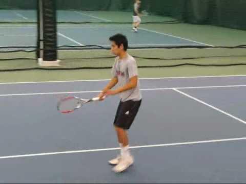 Eric Nguyen's College Tennis Video