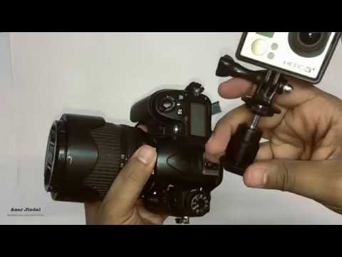 How to Mount GoPro on DSLR (HotShoe Mount) | Product Review