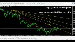 How to Trade with Fibonacci Fan - Identify trends