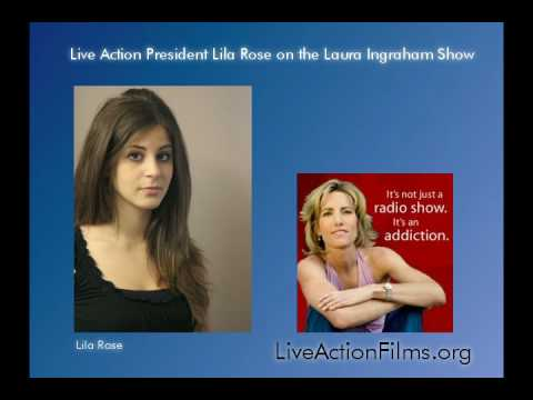 Lila Rose on the Laura Ingraham Show Discussing Undercover Investigation (part 2 of 2)
