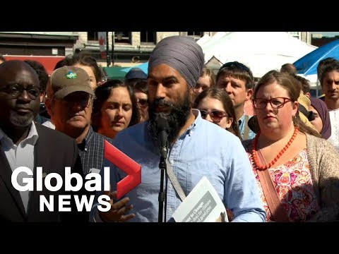 Canada Election: NDP Leader Jagmeet Singh Announces Plan To Support Local Farmers