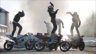 Мото мотивация. Бешеные байкеры Нарезка Лучшего мото фристайла, 2011 - 2016