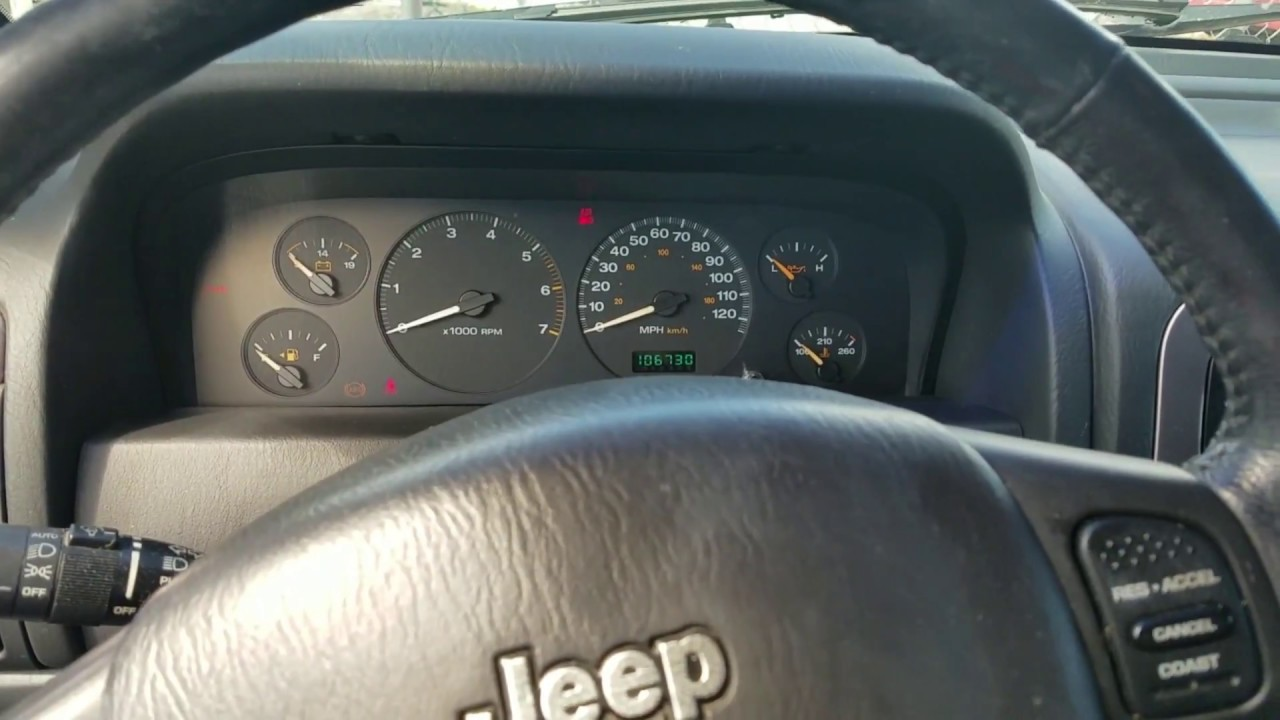 Jeep Grand Cherokee Start and Stall