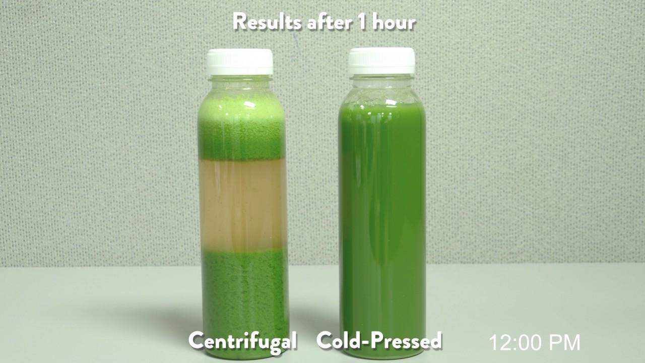 Cold Pressed Juice >> Centrifugal Juice vs Cold-Pressed Juice Timelapse - YouTube