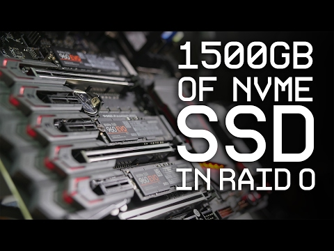 INSANELY FAST TRANSFER SPEEDS?!?! - 3x 960 EVO RAID 0
