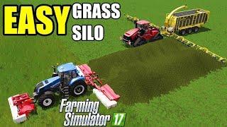 Farming Simulator 17 | EASY GRASS !! EASY FILLING !! EASY SILO !!!