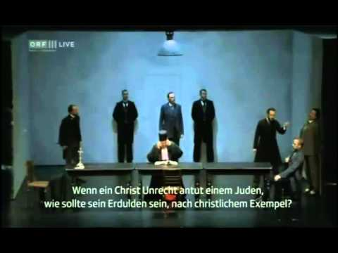 """Merchant of Venice"" opera by Andre Tchaikowsky, Act 3 TV Broadcast"