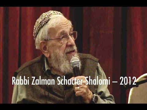 INTERFAITH SPIRITUALITY -- Rabbi Zalman Schachter-Shalomi -- 2012
