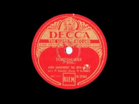 Dorpsmuziek -- The Skymasters o.l.v. Pi Scheffer (Pi Scheffer, vocal) (1948)