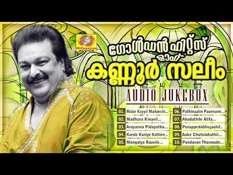 കണ്ണൂർ സലിം ആലപിച്ച മാപ്പിളപ്പാട്ടുകൾ | Golden Hits Of Kannur Saleem | Audio Jukebox