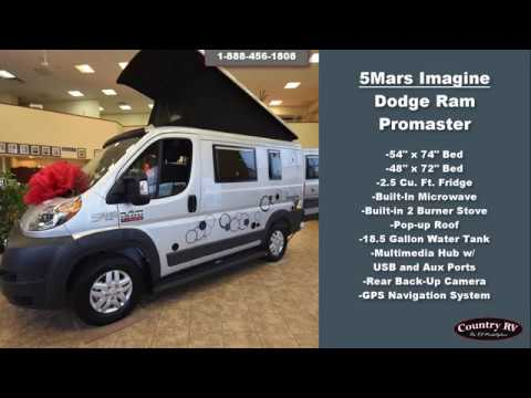 5 Mars Rv Imagine Dodge Ram Promaster Youtube