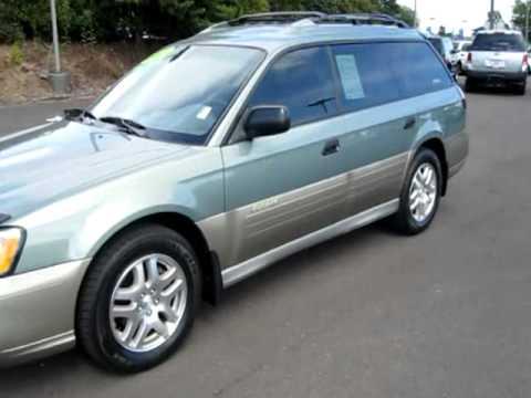 2003 Subaru Outback Wagon 4d 10110g Youtube