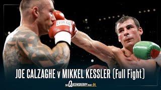 JOE CALZAGHE v MIKKEL KESSLER (Full Fight) | Epic 2007 Super Middleweight World Title Unification