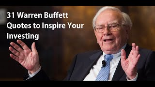 31 Warren Buffett Quotes to Inspire Your Investing