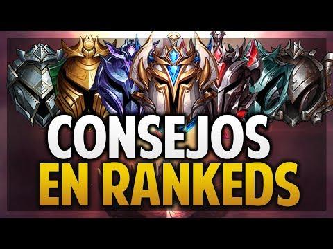 ¡CONSEJOS PARA RANKEDS Y EXPLICACIÓN DE CLASIFICATORIAS! | League of Legends